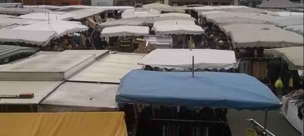 Wochenmarkt in Köln Nippes
