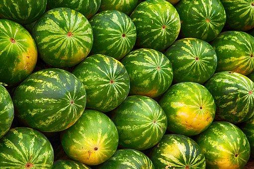 Wassermelonen Berg