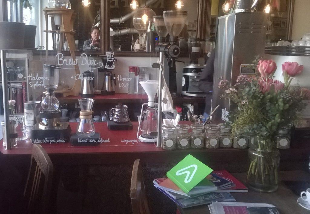 Schamong Kaffeerösterei und Café in Köln-Ehrenfeld