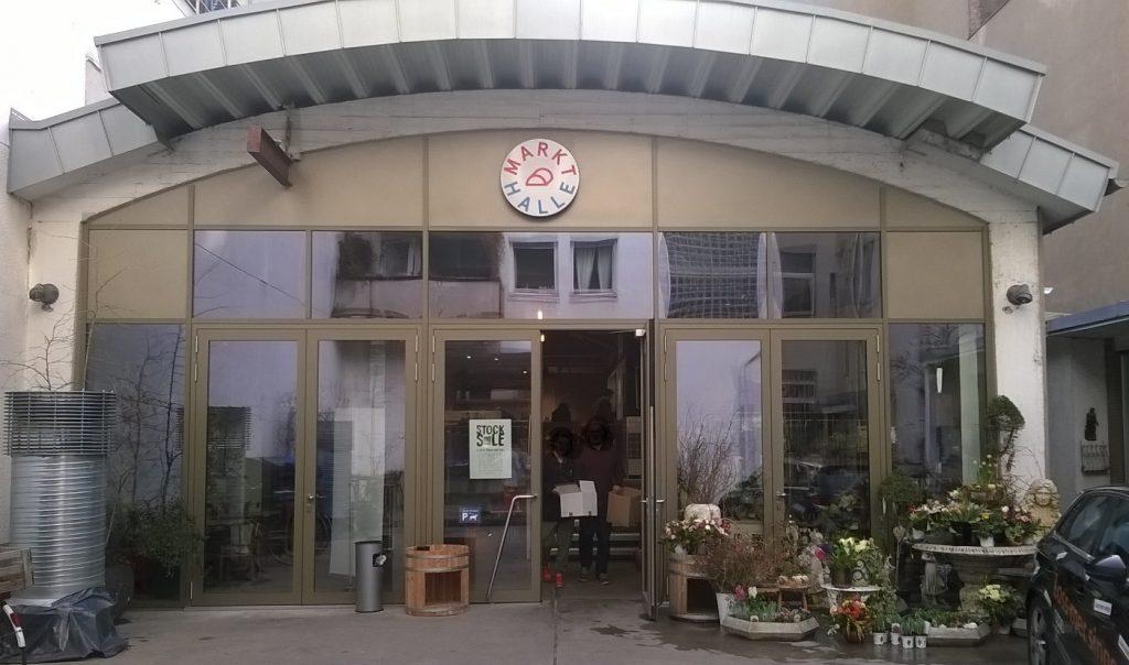Markthalle Köln im Belgischen Viertel - Aussenansicht