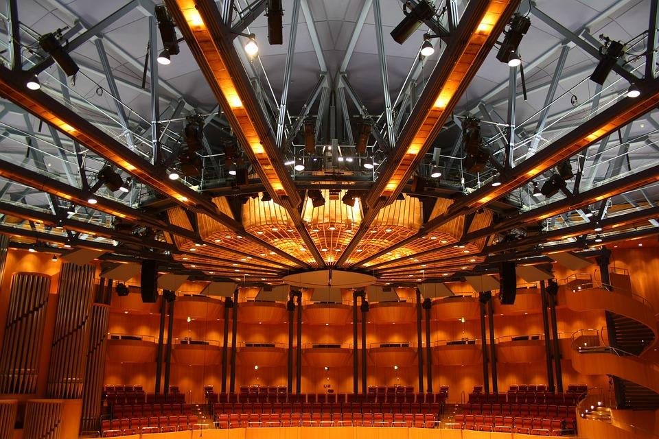 Philharmonie Köln - Deckenkonstruktion