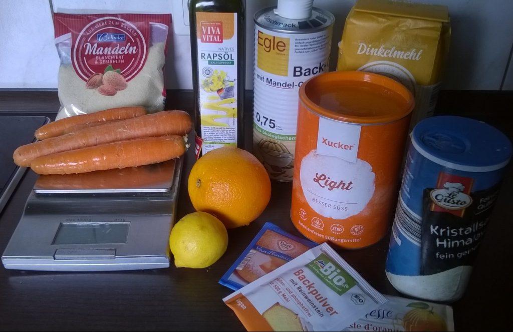 Karottenkuchen Rezept - figurfreundlich und saftig