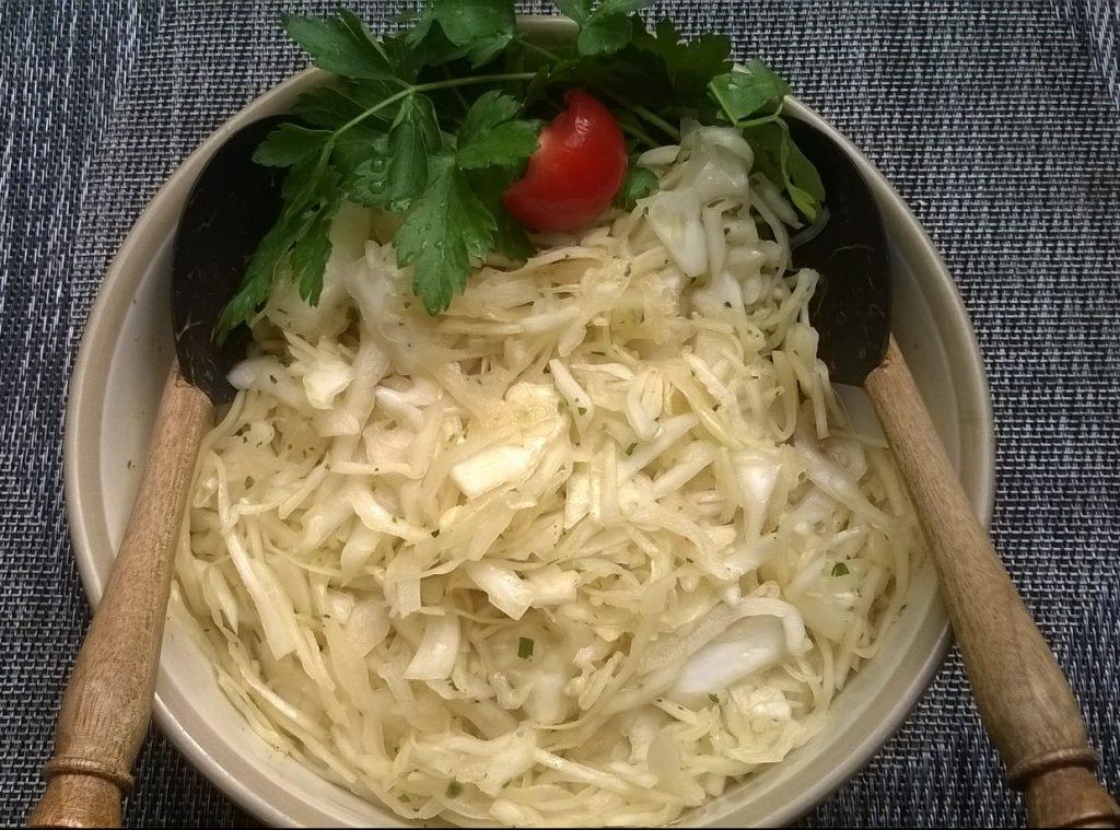 Krautsalat pur - Mmmmhmmmm...