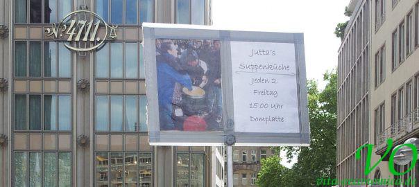 Juttas Suppenküche in Köln seit 1997