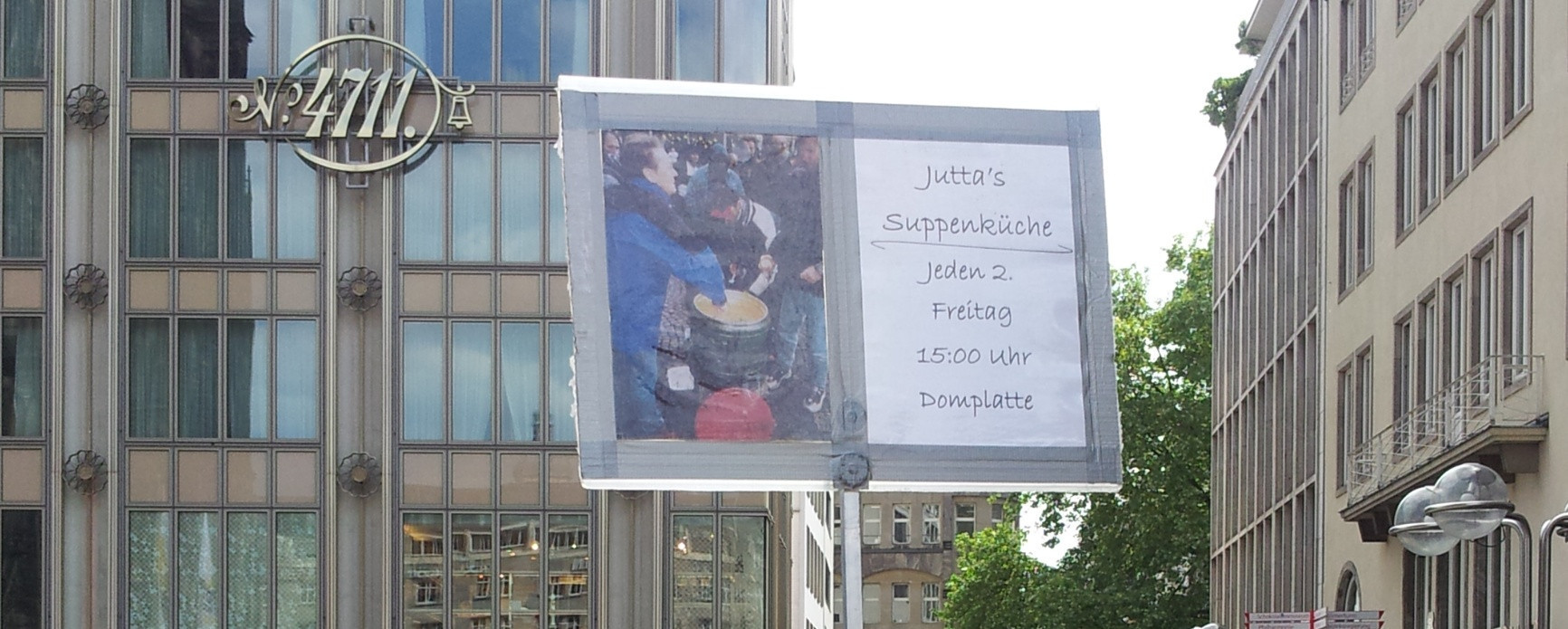 Juttas Suppenküche e. V. in Köln - seit 1997 - Vita Oeconomica