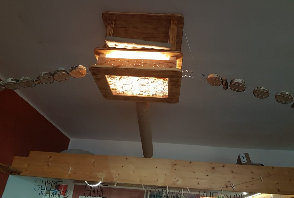 Café Schnurrke Deckenkonstruktion