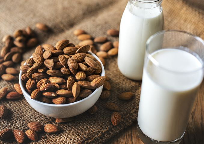 Mandelmilch - Powerdrink selbst gemacht